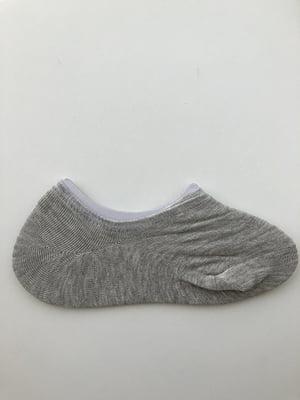 Носки-следки серые | 5107007