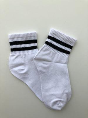 Носки бело-черные | 5107026