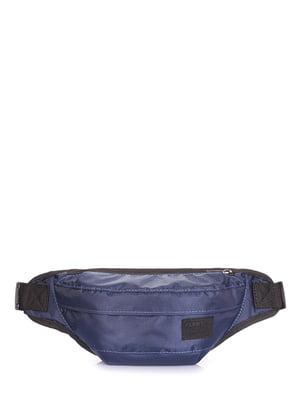 Сумка на пояс синяя | 5109570
