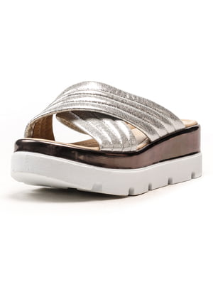 Шльопанці сріблясті - Aquamarine - 5108252