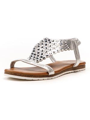 Сандалії сріблясті - Aquamarine - 5108250