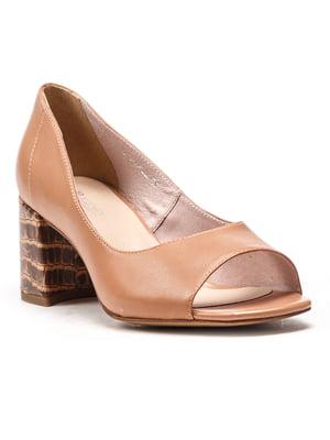 Туфлі бежеві | 5104887