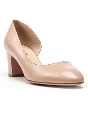 Туфлі бежеві | 5104874