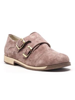 Туфлі кольору кави | 4648760