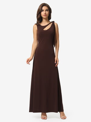 Платье коричневое | 5109975