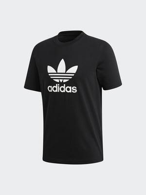 Футболка черная в принт   4556526
