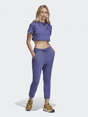 Штани фіолетові | 4782450