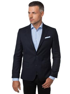 Пиджак темно-синий | 4495440