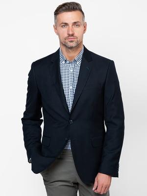 Пиджак темно-синий | 4495444