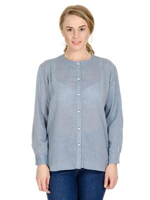 Рубашка голубая | 4683211