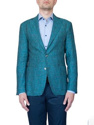 Піджак смарагдового кольору | 5110229