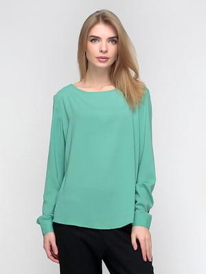 Блуза мятного цвета | 5110514