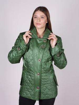 Куртка зелена | 5099893