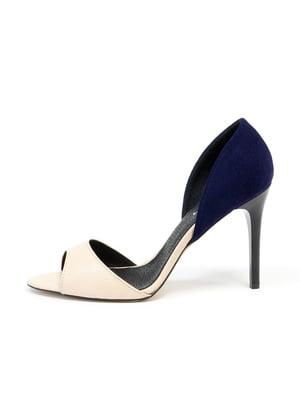 Туфли двухцветные | 5111290