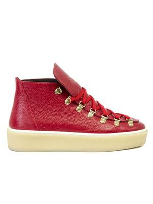 Ботинки красные | 5111300