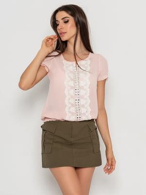 Блуза розовая | 5103105