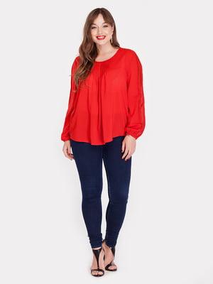 Блуза красная   3747155