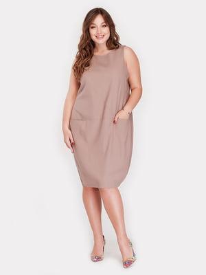 Сукня кольору капучино   3778402