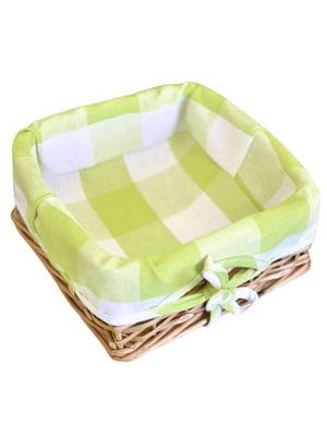 Хлібниця плетена з чохлом «Кантрі» (20х20 см) | 5099058