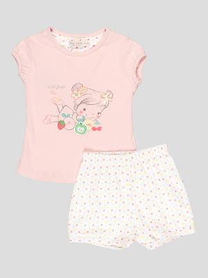 Комплект: футболка и шорты | 5109146