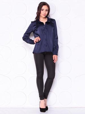 Блуза темно-синяя | 5111559