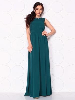 Платье темно-бирюзовое | 5111675
