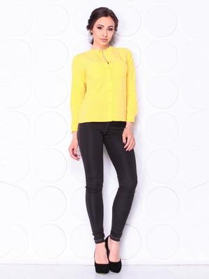 Блуза желтая | 5111694