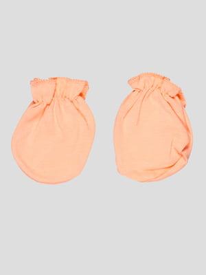 Царапки для новонародженого помаранчеві | 5109166