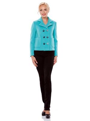 Куртка бірюзова | 4973632