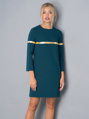 Платье бирюзовое | 4982653