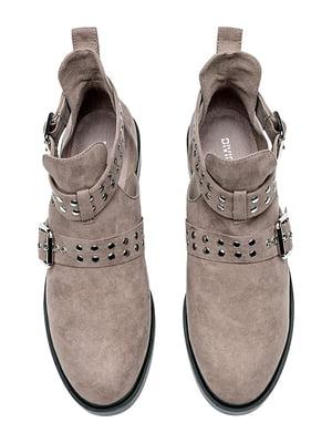 Ботинки серые | 5107594