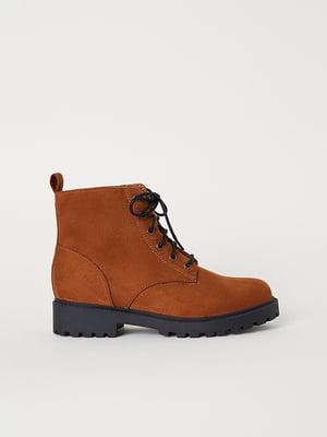 Черевики коричневі | 5107617