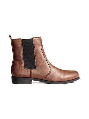 Ботинки коричневые | 5107672