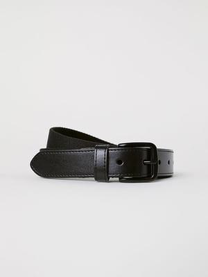 Ремень черный | 5107689