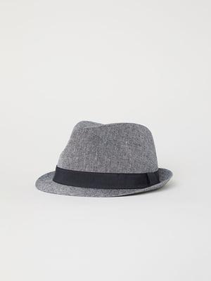 Шляпа серая | 5107701