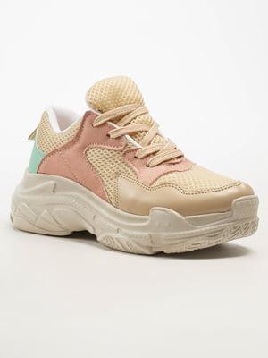 Кросівки бежеві | 5108292