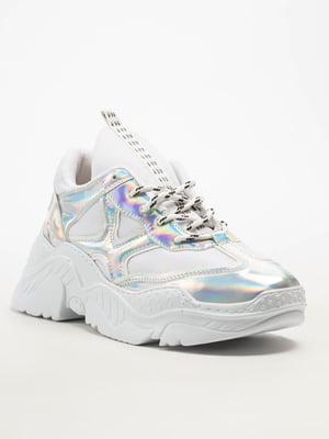 Кросівки сріблясті | 5108266