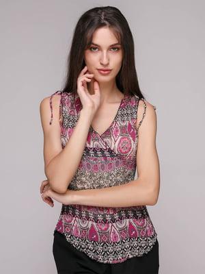 Блуза в принт | 5106193