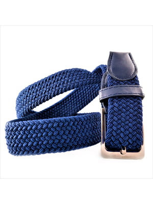 Ремінь-резинка темно-синій | 5113611