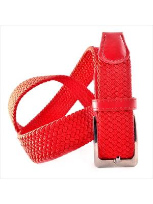 Ремень-резинка красный   5113612