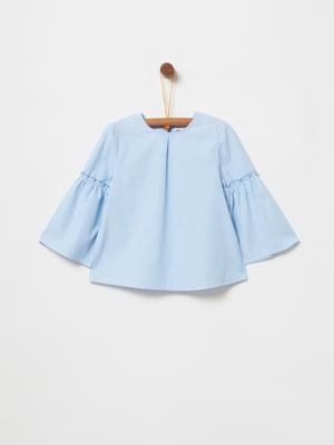 Блуза блакитна   5058794