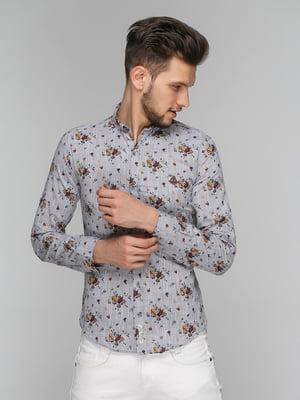 Рубашка в принт | 5086386