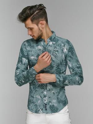 Рубашка в принт | 5086382