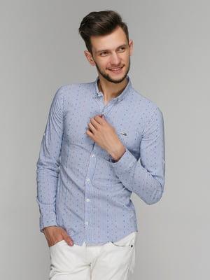 Рубашка голубая | 5086486