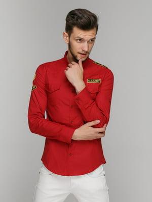 Рубашка красная | 5086476