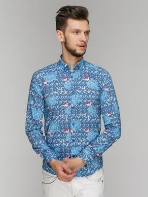 Рубашка в принт | 5086435