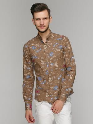 Рубашка в принт | 5086400
