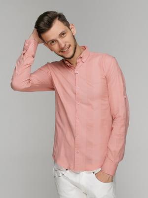 Рубашка розовая | 5086434
