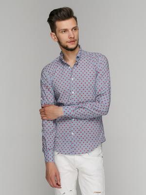 Рубашка в принт | 5086456
