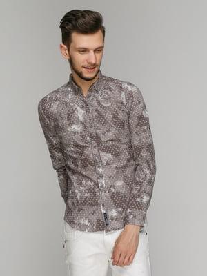 Рубашка в принт | 5086378